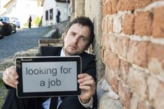 Jobless - stock photo