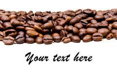 Stock Photo of Coffee heart