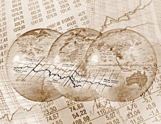 Global Stock Trading - stock illustration