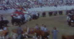 Royal Easter Show Sydney 60s Vintage 2 Stock Footage