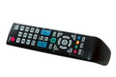 Television control panel - stock photo
