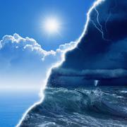 Weather forecast Stock Photos