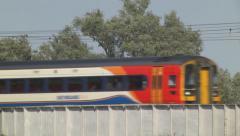 East Midlands passenger train Stock Footage