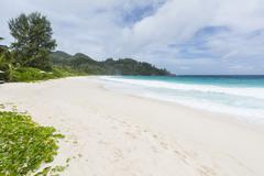 Beautiful Anse Intendance in the south of Mahe, Seychelles Stock Photos