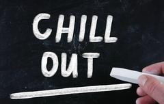 chill out - stock photo