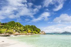 Anse Severe, La Digue, Seychelles Stock Photos