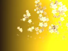 Shiny Stars Particles on smooth background Kuvituskuvat