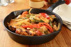 Chicken Asada Stock Photos