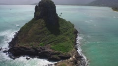Chinaman's Hat - stock footage