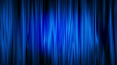 Stock Video Footage of Blue curve animation background.