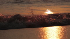 Waves at Dawn Stock Footage