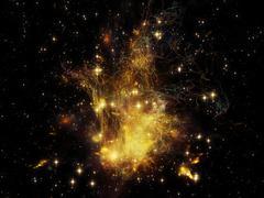Exploding Nebula Stock Illustration