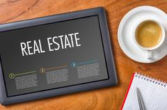 Tablet - Real Estate Stock Photos