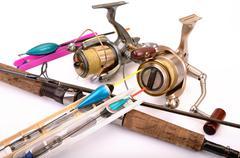 fish-tackle - stock photo