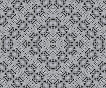 Ancient Arabesque Stone Ornament Pattern Stock Illustration