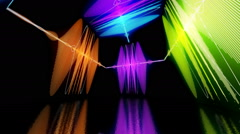 Soundwave festival and side wave design 1 Stock Footage
