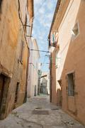French alley - stock photo