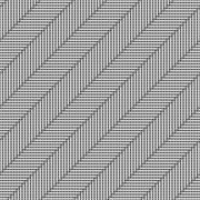 Pattern tube overlap parallel slope Stock Illustration