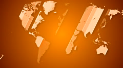 Worldmap detailed animation 8 Stock Footage