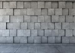 Abstract background of the concrete - stock illustration