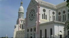 Archival footage of National Cathedral Port-Au-Prince, Haiti - stock footage