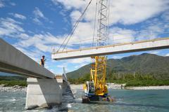 Bridge builders Stock Photos