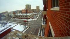 Urban Tilt-Shift Time lapse Stock Footage