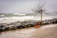 Stormy sea of Marmara Kuvituskuvat