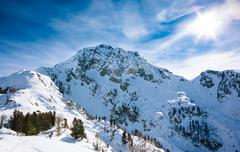 Stock Photo of Winter mountain landscape