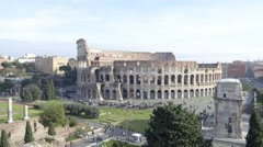 Timelapse Coloseum Wide - stock footage