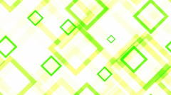 Tileable green grid square Stock Footage