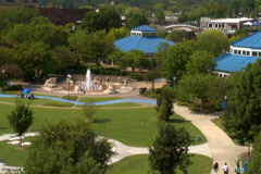 Coolidge Park in Chattanooga, TN Stock Footage