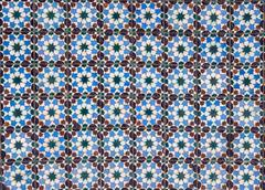 Azulejos, traditional Portuguese tiles Stock Photos