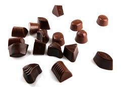chocolate bar sweet desseret sugar food - stock photo