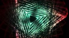 Fractal Shapes Vj Loop Stock Footage