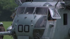 Sikorsky H-53 Sea Stallion - stock footage
