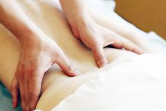 Relaxation massage Stock Photos