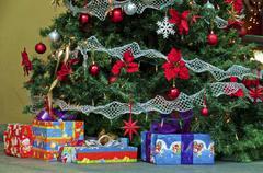 Seasonal greeting, decoration and celebration Stock Photos