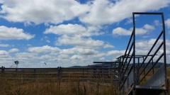 Australian Farming Landscape Stock Footage