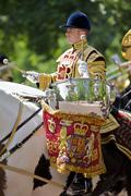 Trooping of the Color, Queen's Birthday in London Stock Photos