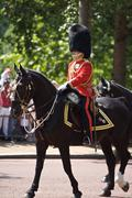 London Trooping of the Colour in London Stock Photos