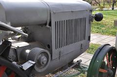 Wheeled arable tractor Stock Photos