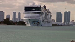 NCL's Norwegian Epic Clip 3 Stock Footage