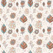 Stock Illustration of adorable cartoon seamless pattern