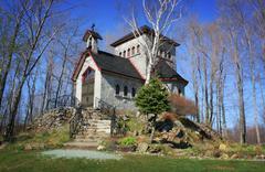 Monastery Cloister Stock Photos