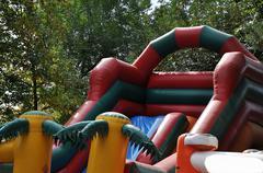 Stock Photo of Children amusement show
