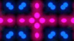Abstract motion background flashing disco party lights Stock Footage