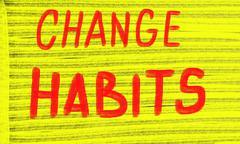 Change habits Stock Photos