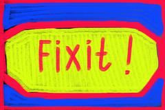 fix it concept - stock photo