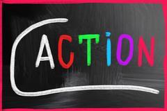 Action concept Stock Photos